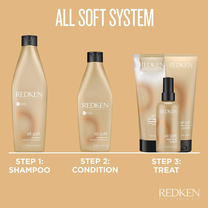 Redken - All Soft - Shampoo - Beauty - Redken Prohair
