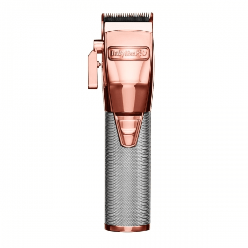 BaBylissPRO Metal Lithium Clipper - Luxury Beauty - Rose Gold - Prohair