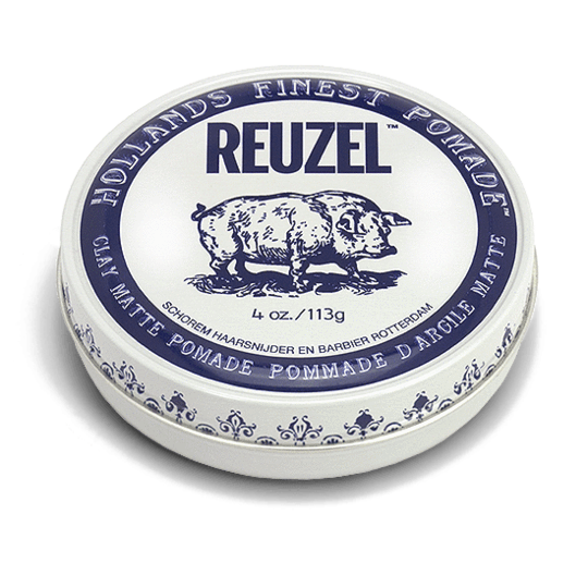 Reuzel - Clay Matte Pomade - Hair Products - 4oz | 113g - Prohair