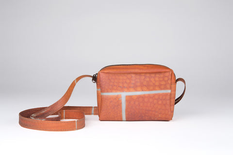 Luisa Cevese Riedizioni zip bag with strap