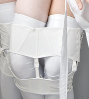 PVC Twin Knee corsets