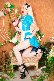 PVC Alice in Wonderland Costume