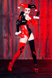 Harley Quinn Jumpsuit with Sleeves
