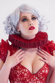 Clear PVC and Lace shrug