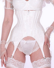 Lace and PVC Garter Corset