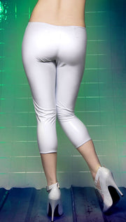 Capri PVC Leggings