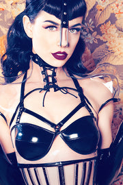 Clear PVC Harness Bra