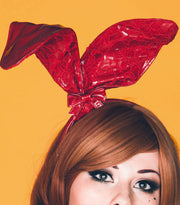 PVC and Lace Bunny ears