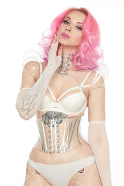 Clear PVC Monarch shrug