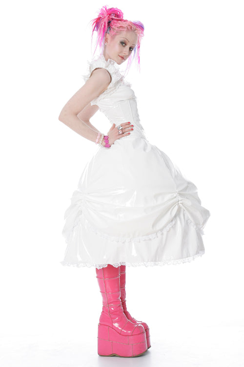 Cupcake layered ruffle skirt