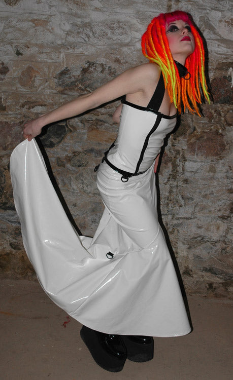 PVC Ballgown adjustable skirt