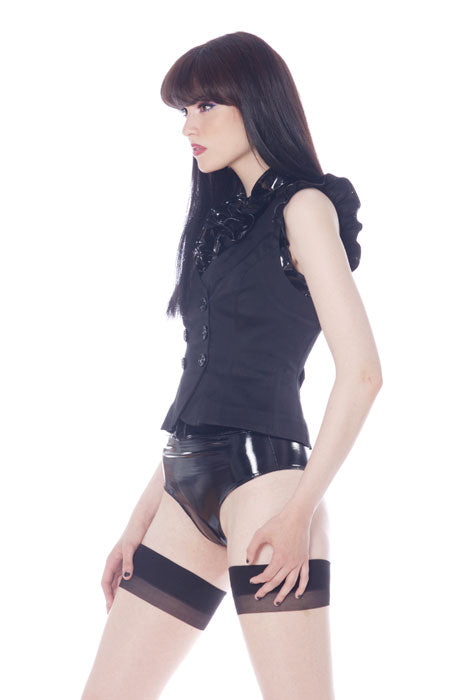 PVC high waisted formal underwear