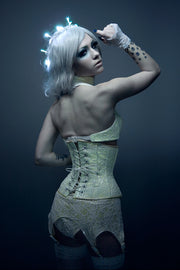 Glow in the dark Lace Underbust Corset