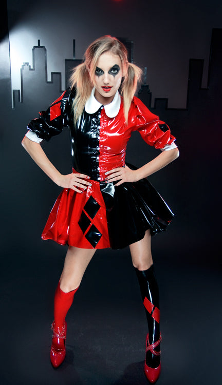 Harley Quinn Gothic Lolita dress