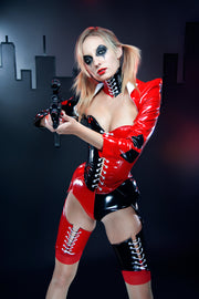 Harley Quinn angled Overbust corset
