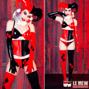 Harley Quinn Long Sleeve Gloves