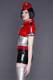 PVC Miniskirt (free length adjustment!)