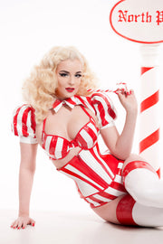 Candy Cane High waisted underwear