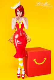 McDee Waitress costume
