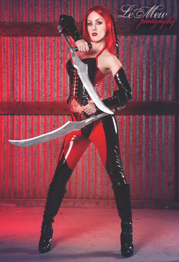 Bloodrayne cosplay PVC Costume