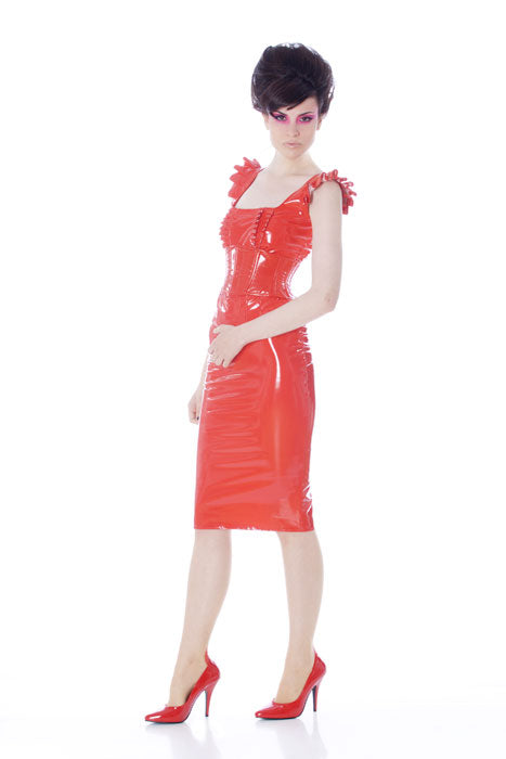 Custom length invisible zip Pencil skirt