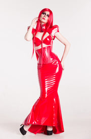PVC Mermaid skirt