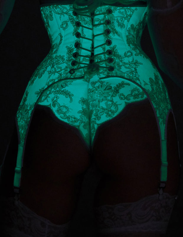 Glow in the Dark Lace overlay Underwear