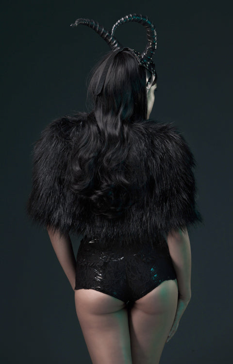Artifice Fur cape