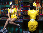 PVC Waitress hat