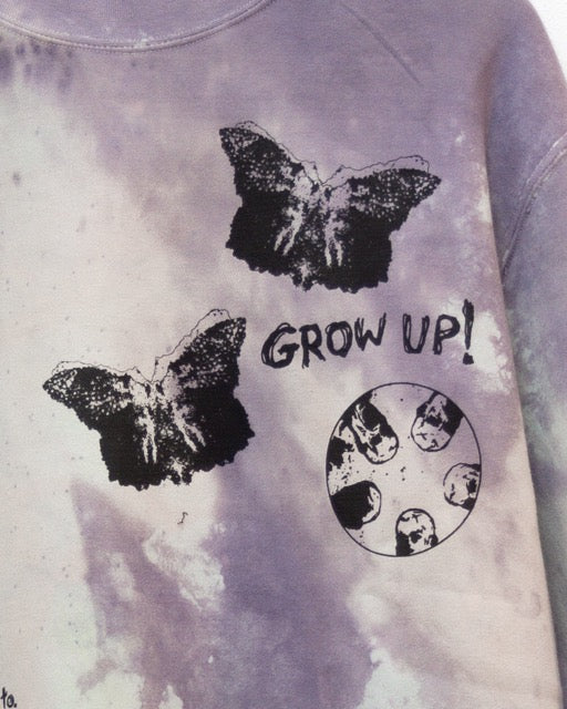 """GROW UP"" Crewneck"
