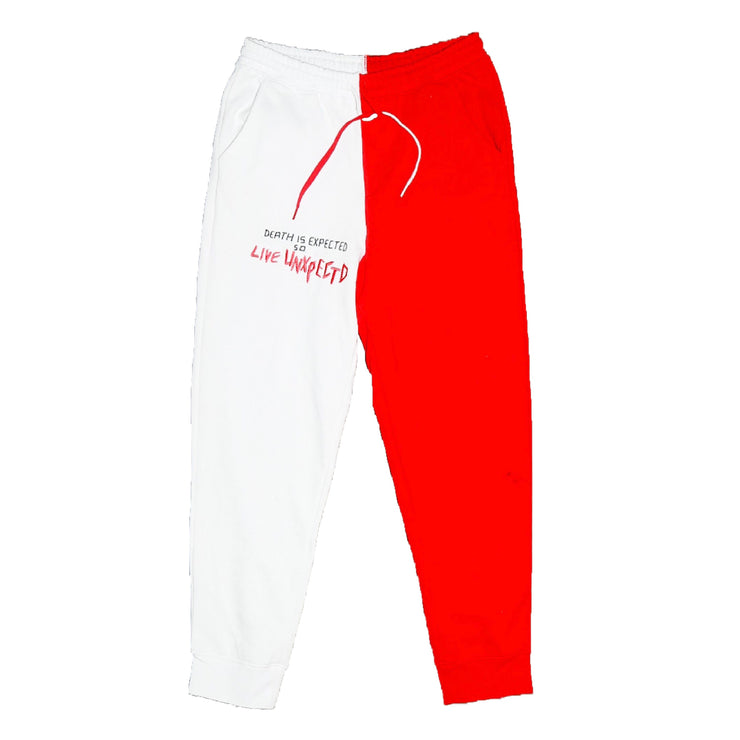 """Live Unxpectd"" Split Sweatpants"