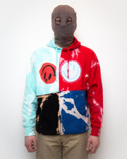 [Alteration of Color] Quad-Split Hoodie