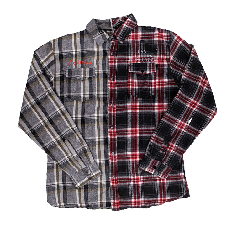 """Perception"" Split Flannel"