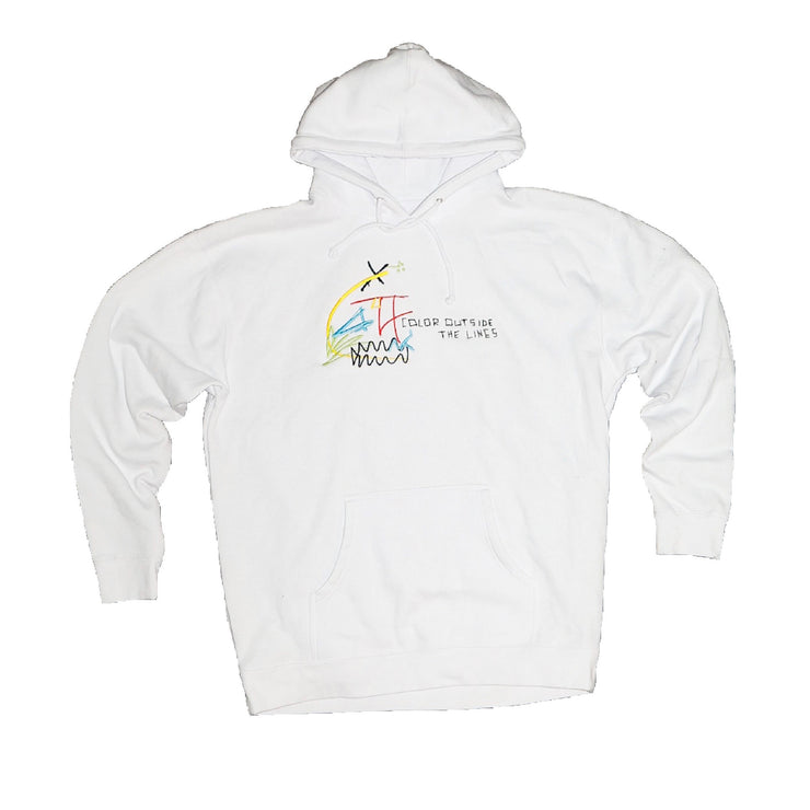 """Color Outside The Lines"" Hoodie"