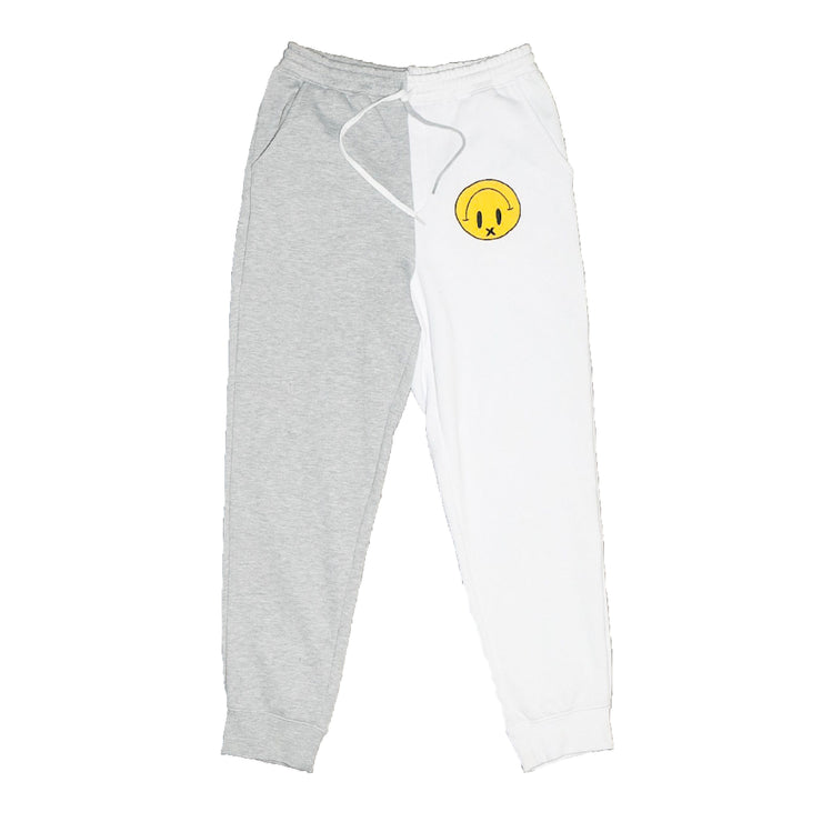 """Smile!"" Split Sweatpants"
