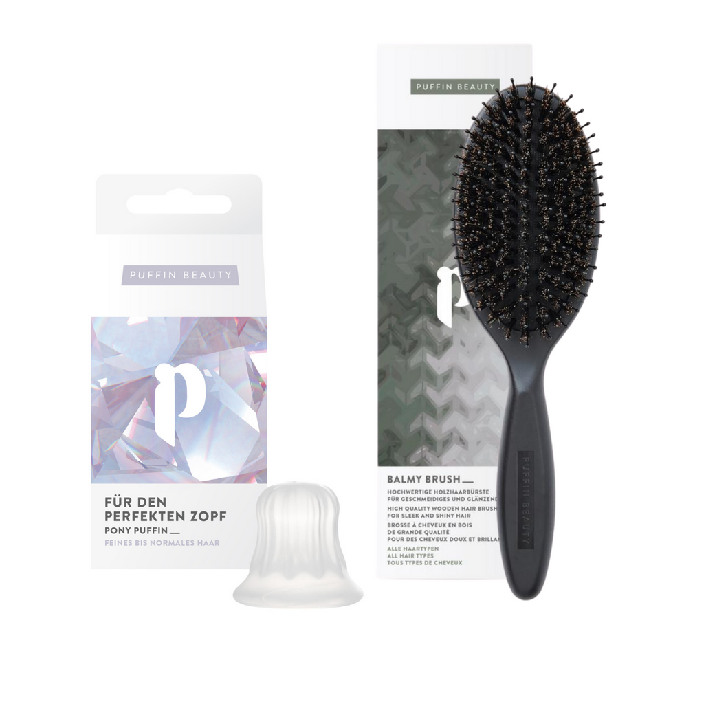 PONY PUFFIN CRYSTAL + balmy brush
