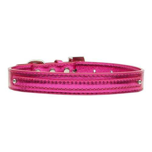 "3/8"" (10mm) Metallic Two Tier Collar Pink Small"