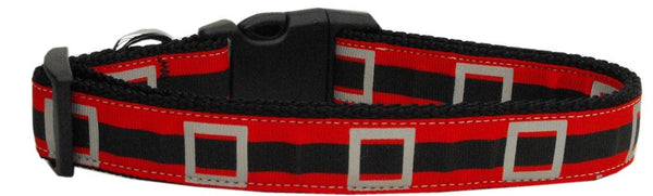 Santa's Belt Dog Collar Large
