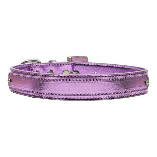 "3/4"" (18mm) Metallic Two-Tier Collar  Purple Medium"