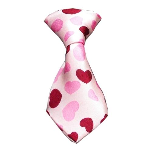 Dog Neck Tie Hearts