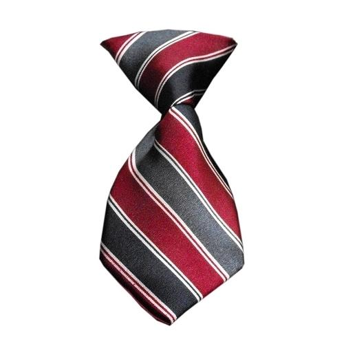 Dog Neck Tie Striped Classic