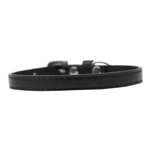 Omaha Plain Puppy Collar Black Size 10