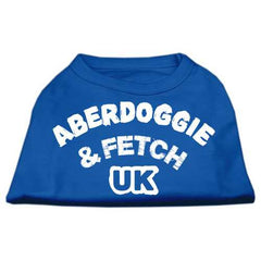 Aberdoggie UK Screenprint Shirts Blue Lg (14)