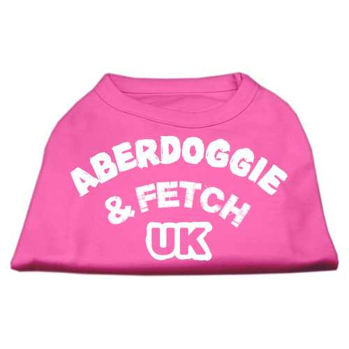 Aberdoggie UK Screenprint Shirts Bright Pink Med (12)