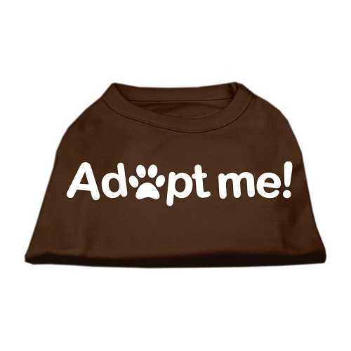 Adopt Me Screen Print Shirt Brown Med (12)