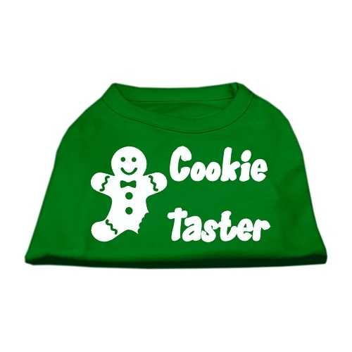 Cookie Taster Screen Print Shirts Emerald Green Med (12)