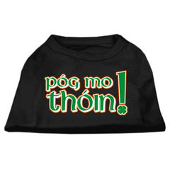 Pog Mo Thoin Screen Print Shirt Black  XXL (18)