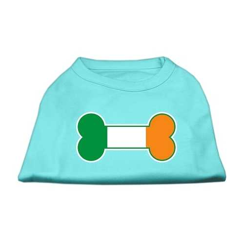 Bone Flag Ireland Screen Print Shirt Aqua Lg (14)