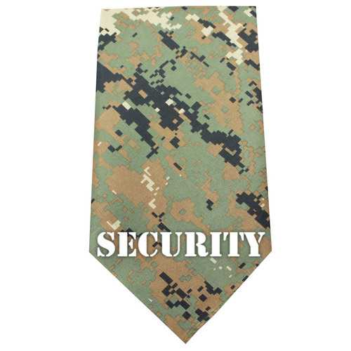Security Screen Print Bandana Digital Camo