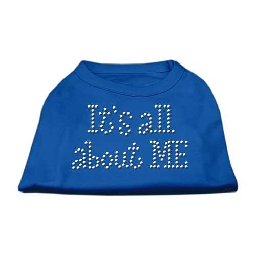 It's All About Me Rhinestone Shirts Blue Med (12)